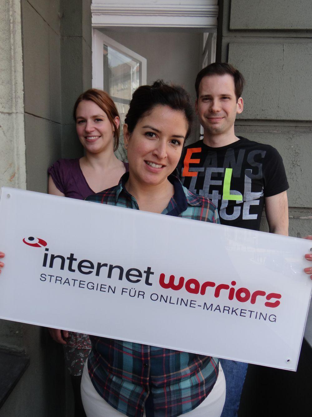 V.l.n.r.: Elisa Hallberg, Priscila Etter, Nicolai Fleckenstein
