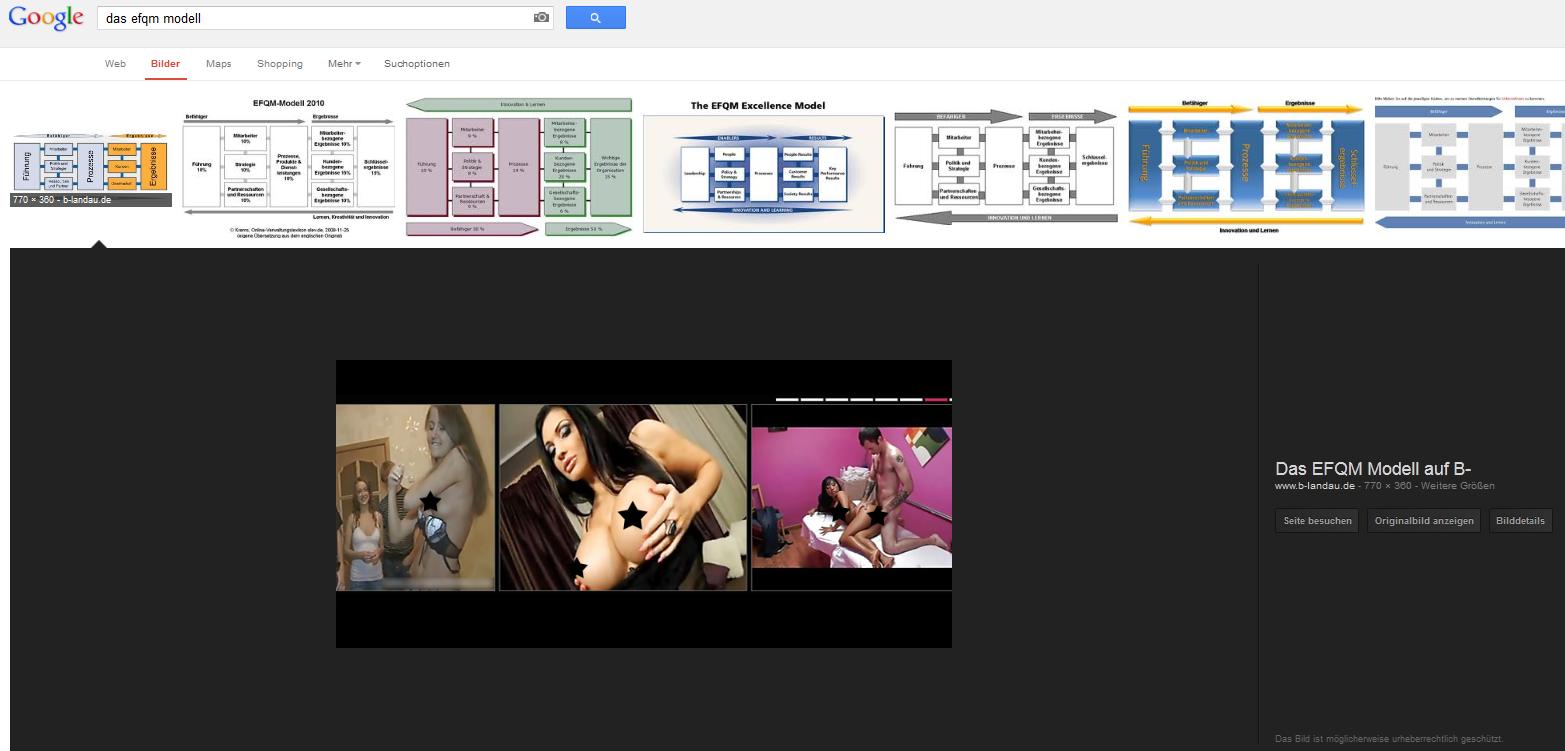 Google-Bildersuche-Manipulation