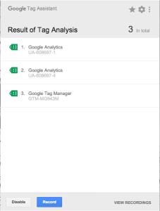 Google-Tag-Assistent