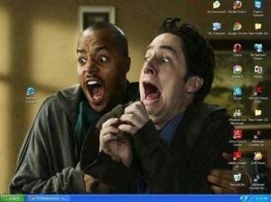 Internet Explorer - Es wird sich darüber lustig gemacht.