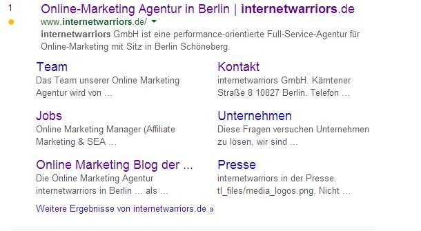 Internetwarriors.de_in_SERPS_Screenshot