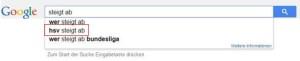 Wer-steigt-ab-Suchergebnisse