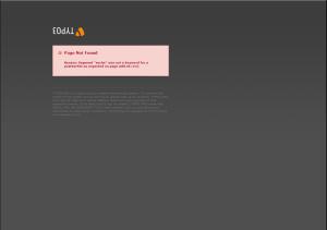 Abbildung Beispielseite 404 Fehler mit TYPO3