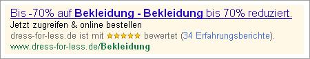 Suchergebnis für Bekleidung 2011