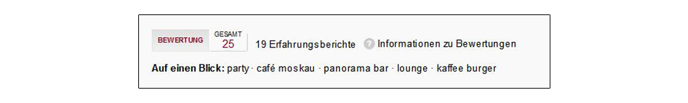 Screenshot: Google-Local-Bewertungen