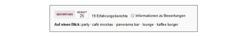 Screenshot: Google-Local-Bewertungen