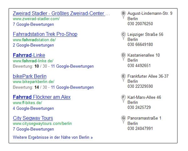 Google-Local-Integration
