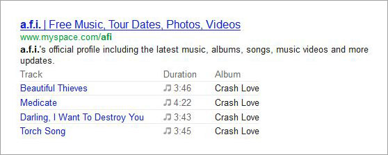 Google-Rich-Snippets-Songs