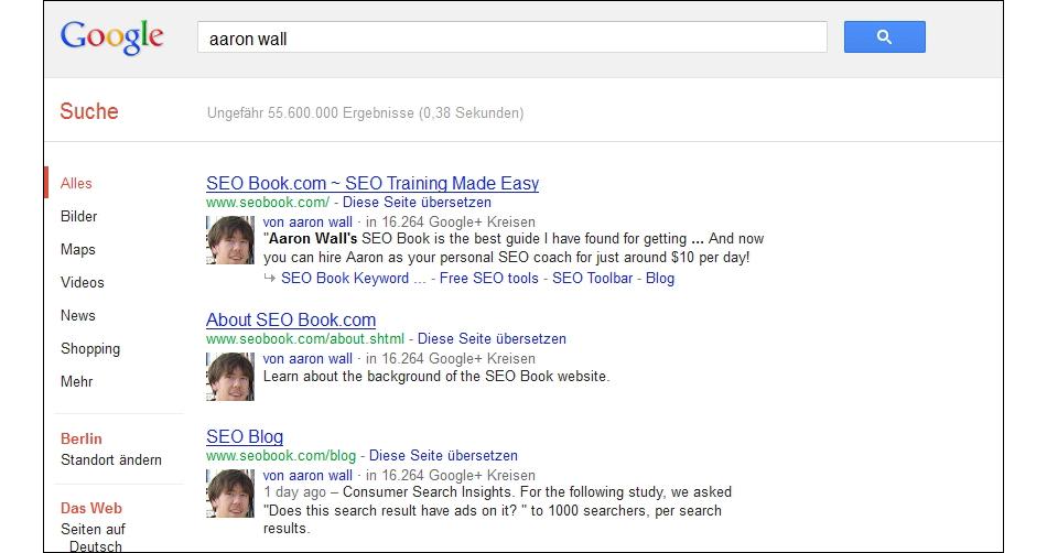 Google-SERPs-Urheber