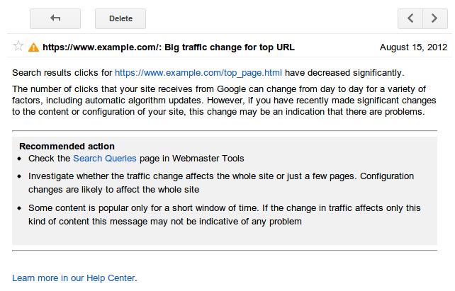 Google-WMT-Alert