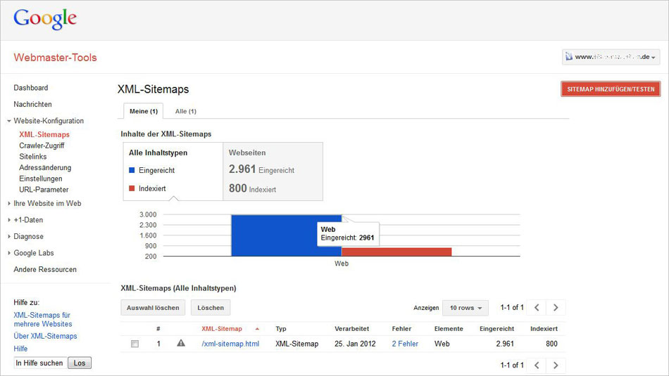 Google-Webmastertools-Sitem