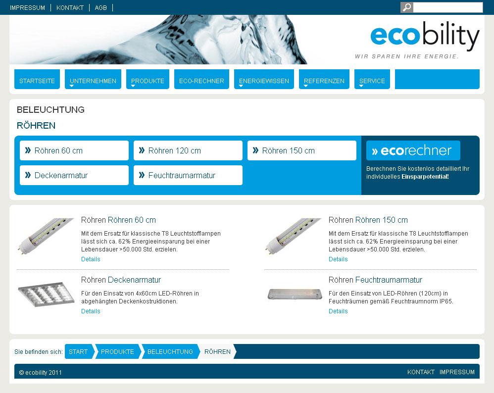 ecobility-Röhren