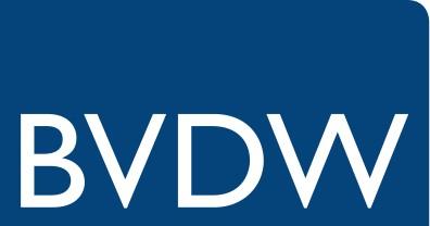 Logo von BVDW, dem Bundesverband für Digitale Wirtschaft e. V.