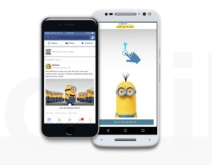 Facebook Canvas Minions
