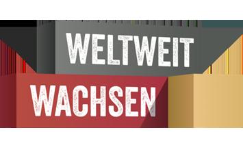 Logo vom Programm Weltweit Wachsen von Google Deutschland
