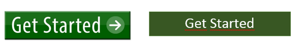 Abb.2 grüner CTA mit GO Pfeil vs. grüner CTA ohne Pfeil