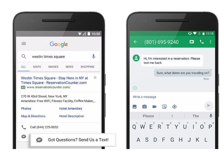 Google AdWords Nachrichtenerweiterung