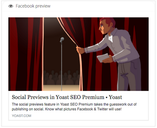 facebook preview mit yoast