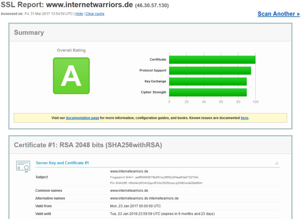 Vorteile der HTTPS Umstellung | internetwarriors.de