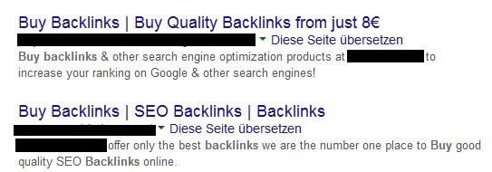Backlinkaufbau durch Kauf