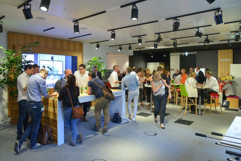 Teilnehmer der Fachkonferenz ganzheitliches Online Marketing für den Mittelstand
