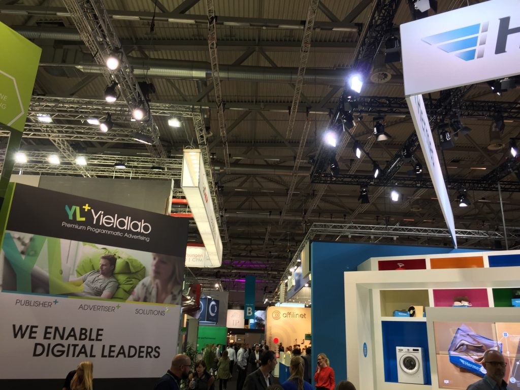Messestand dmexco