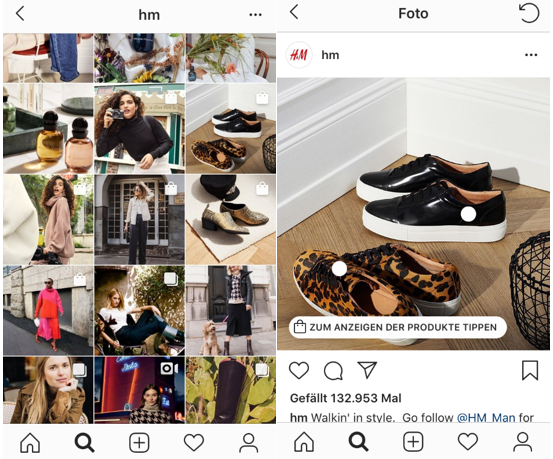 Instagram Feed shoppable