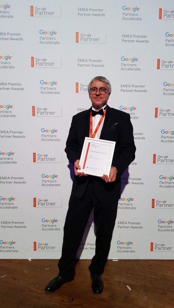 internetwarriors GmbH Geschäftsführer - Google Premium Partner Award 2018