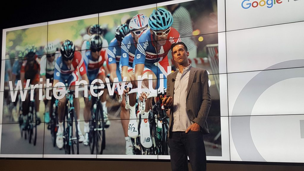David Millar - Google Premium Partner Award 2018