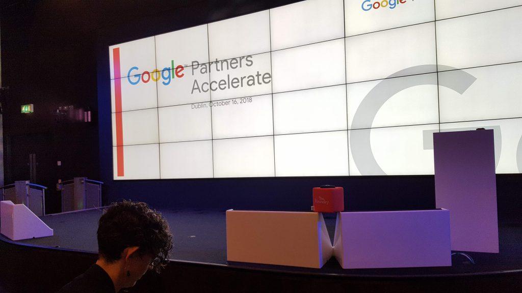 Hauptbühne - Google Premium Partner Award 2018