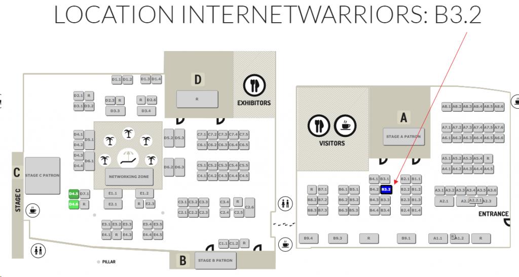 Lageplan der e-commerce expo berlin