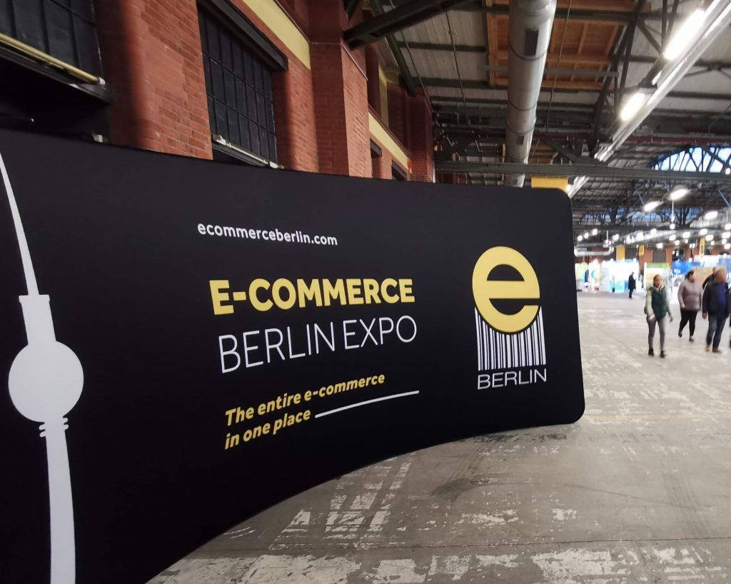 Aufsteller E-Commerce Berlin Expo 2019