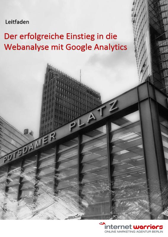 Cover Whitepaper zum Thema: Einstieg in Google Analytics