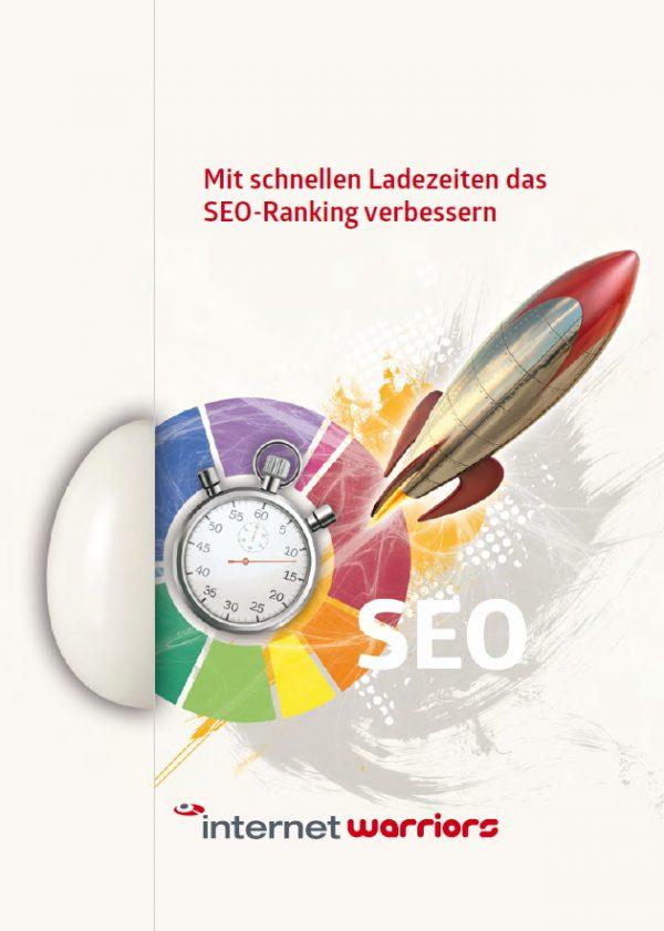 Cover Whitepaper zum Thema: Mit schnellen Ladezeiten das Ranking verbessern