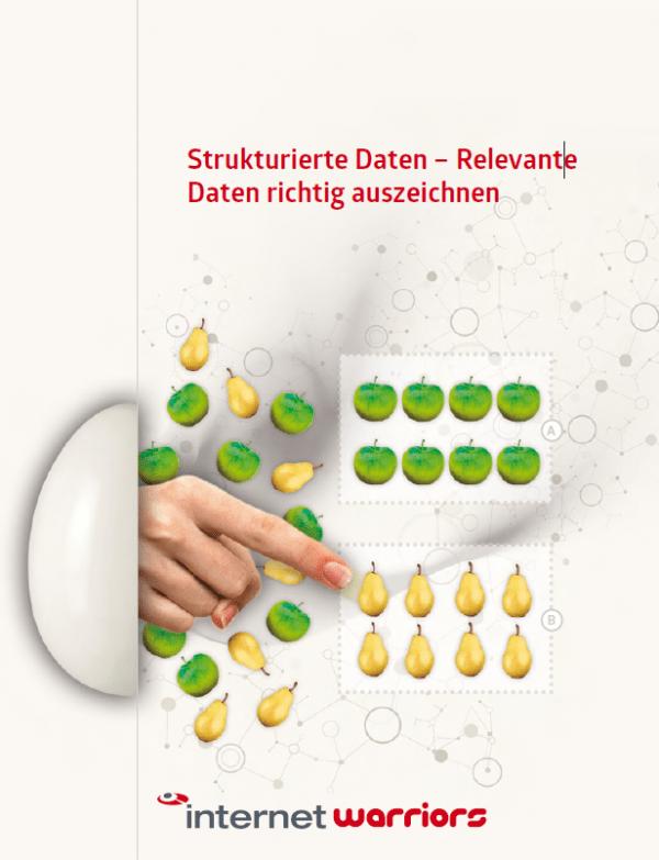 Cover Whitepaper zum Thema: Strukturierte Daten, relevante Daten richtig auszeichnen