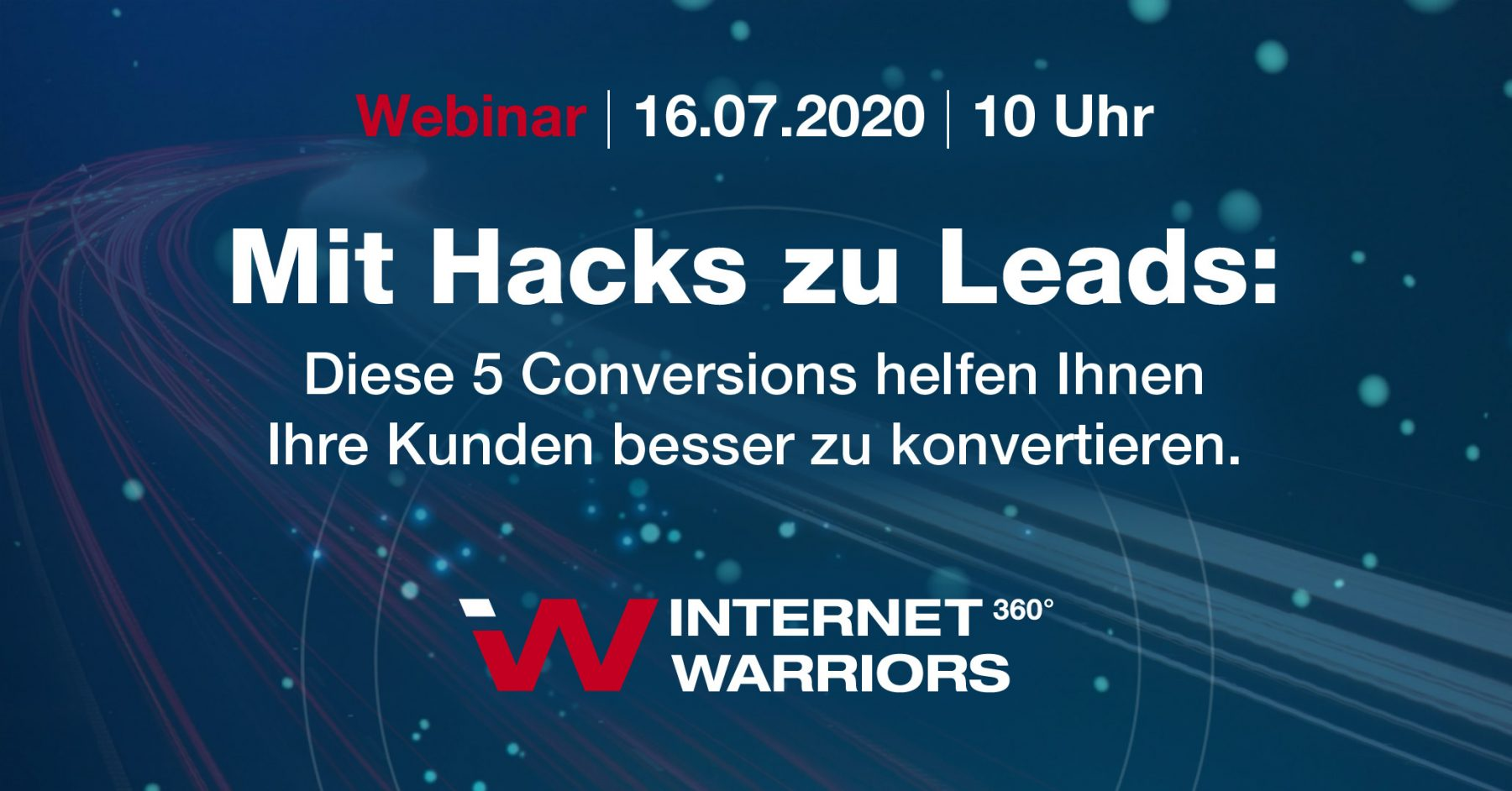 webinar mit hacks zu leads internetwarriors