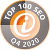 Top 100 SEO Siegel