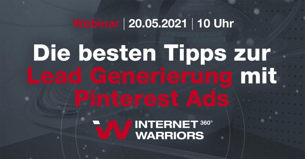 Banner Webinar Pinterest Ads